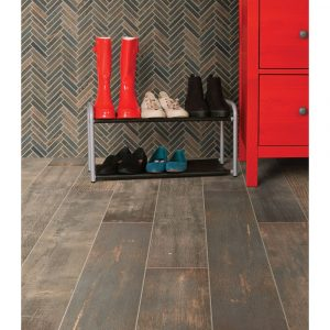 Emberwood Chevron Mosaic floor | Home Lumber & Supply