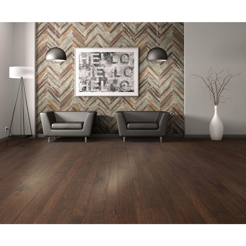 Fusion Herringbone Mosaic Hardwood floor | Home Lumber & Supply