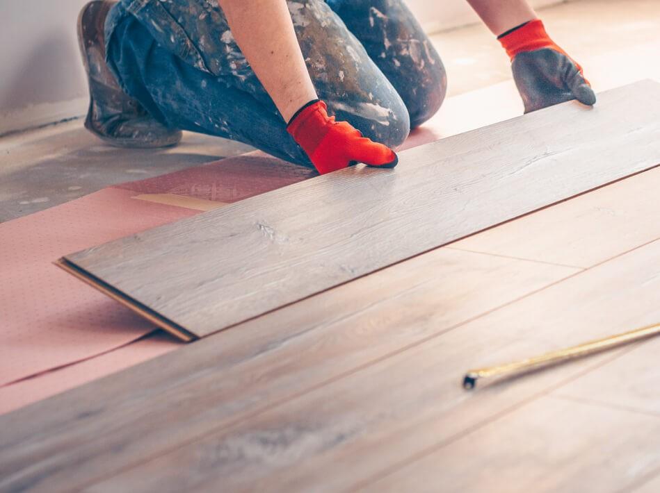 Hardwood flooring installation | Home Lumber & Supply