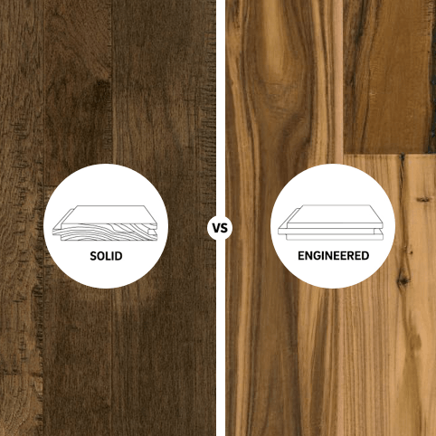 Solid vs engineered square hardwood | Home Lumber & Supply