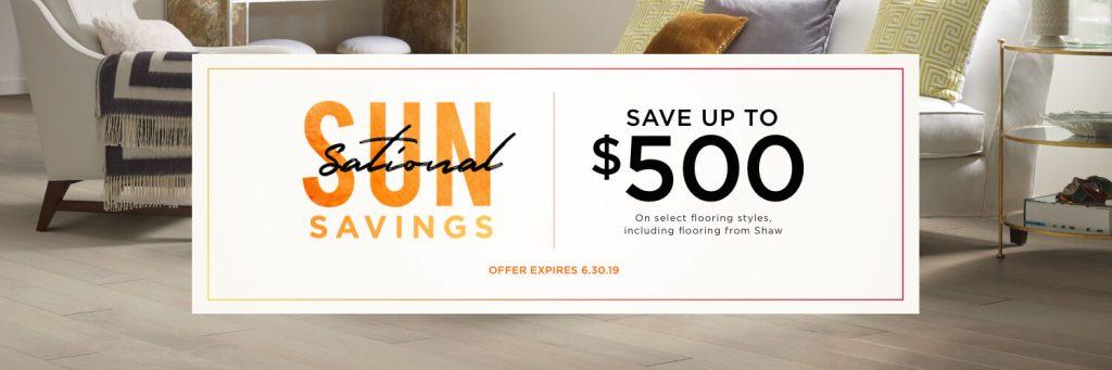 Sun Sational Savings Sale   Home Lumber & Supply