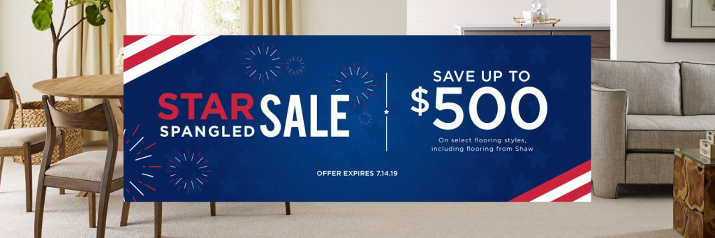 Star Spangled Banner Sale | Home Lumber & Supply