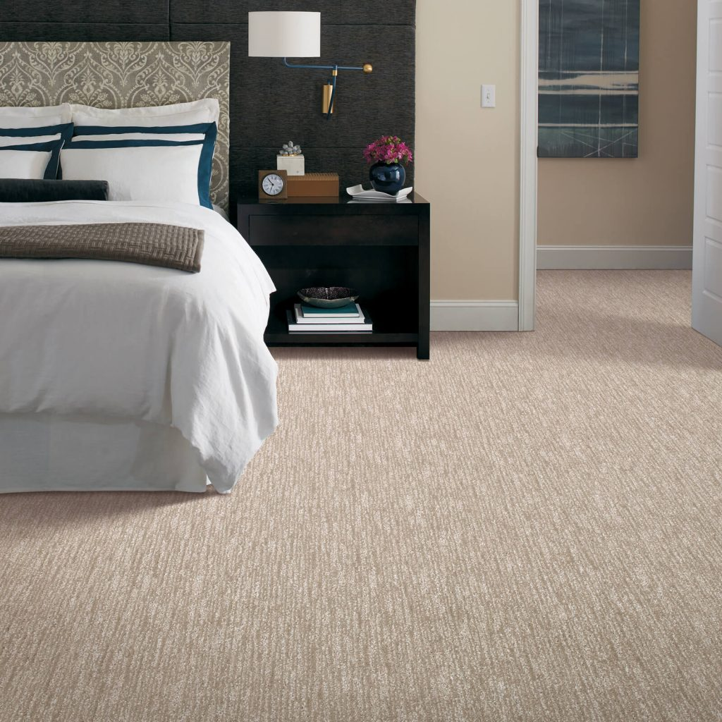 New carpet in bedroom | Home Lumber & Supply