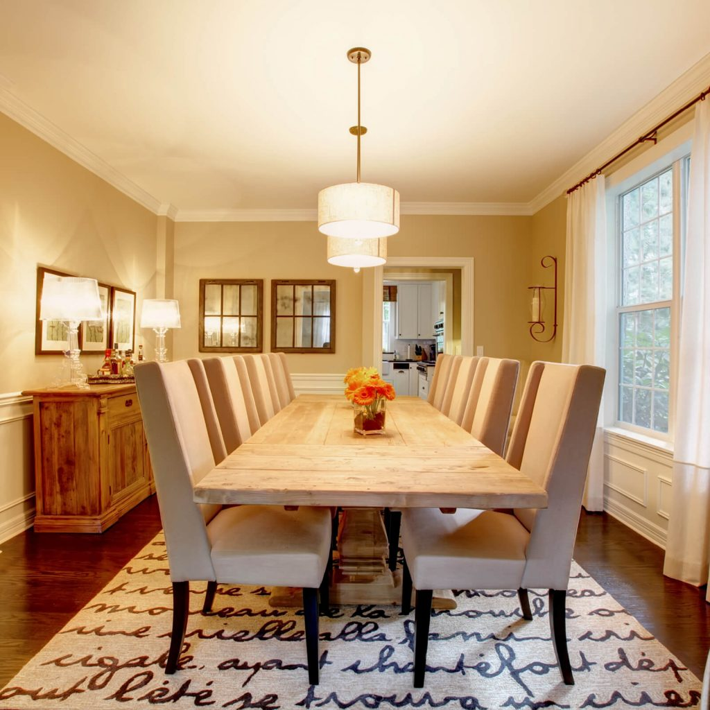 Choosing the Best Rug for Your Dining Room | Home Lumber & Supply